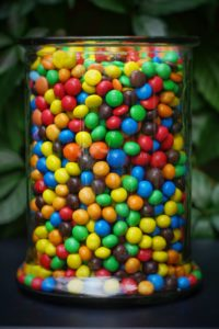 Stackable Content M&Ms